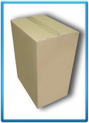 Cardboard boxes, gofroyashchik