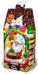 Картонная новогодняя упаковка Кондитерская Деда