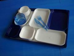 Reusable ware of the KSSU standard. Ware of the