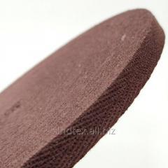 Коричневая киперная лента 1 см (киперная тесьма 10мм) (6-БК-031