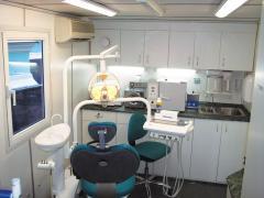 The equipment is stomatologic mobile, mobile
