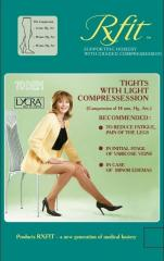 Panty hoses compression easy compression of