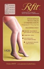 Чулки компрессионные сильной компрессии без носка
