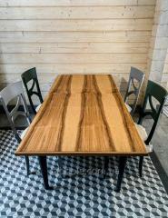 Дизайнерский деревянный стол из ясеня