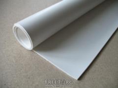 Резина белая листовая