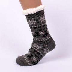Мужские тапочки-носки с антискользящей...