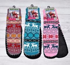 Женские домашние тапочки-носки с поверхностью