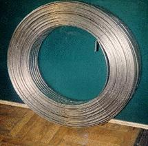 Naplavochny powder wire and tape