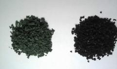 Crumb rubber for a sports covering