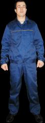Suit model worker (serge)