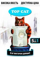 Наповнювач для котячого туалету ТОР САТ