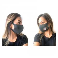 Защитная маска для лица,  тканевая,  Кумамон