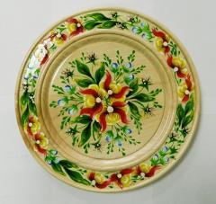 "Тарель маленькая ""Желтые цветы"",  к.644"