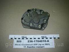 Насос масляный КПП МАЗ , ЯМЗ 236,238