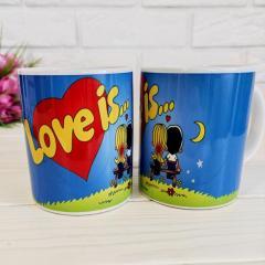 Романтическая Чашка Love is,,,,