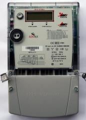 Electric meters electronic three-phase NP-06