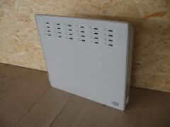 The power of 400 W has convectors, a heater
