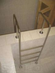 STEEL DESIGN: Any handrail, hand-rail from