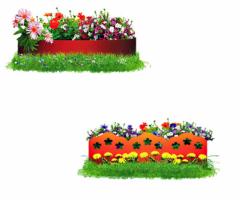 Border garden plastic GEODOR