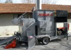 Mobile installations for burning of corpses of