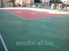 Covering for the sports ground of GEODOR