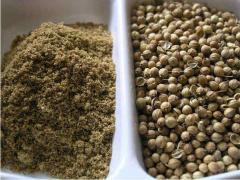 Coriander grains