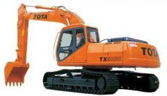 Экскаватор гусеничный TOTA TX210C