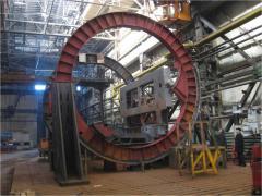 Vagonooprokidyvatel is rotor