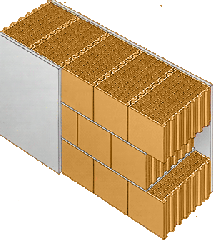 Large-format brick ceramic