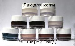 Colors and varnishes for skin