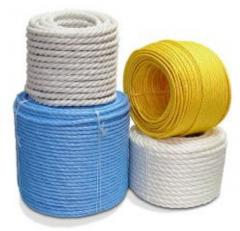 Ropes polypropylene from the producer, export is