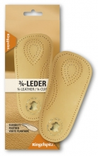 Semi-insoles from genuine leather for women