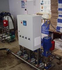 Насосная станция повышения давления воды бустер