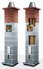 Дымоходы с керамической трубой Icopal Wulkan
