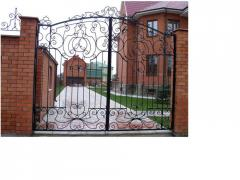 Shod gate Kiev, exclusive shod a vorotoa under the
