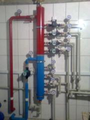 Индивидуальные тепловые пункты от 25 кВт до 3,0