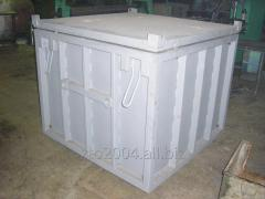 Container KTPO-1,5 metal reusable use