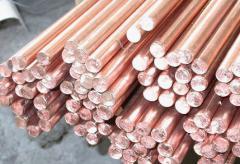 Bars copper