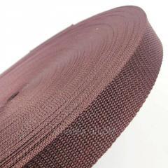 Тесьма сумочная-ременная Sindtex 3см коричневая (СИНДТЕКС-0853)