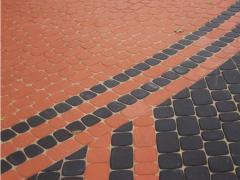 Тротуарная плитка вибропресованая