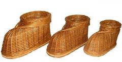 Цветочник-сувенир туфль (большой размер) Арт.448.1
