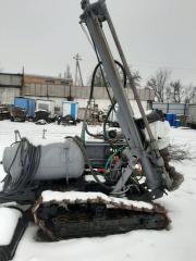 Буровая установка сбу-100,компрессор ДВК-125.