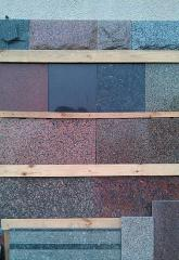 Tiles facing granite, the Tile granite polished in