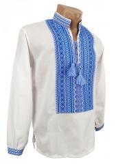 Украинская рубашка с вышивкой для мальчика...