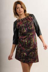 Платье Ри Мари Африка ПЛ 18.2-85/14 44 черный