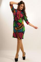 Платье Ри Мари Арабика ПЛ 1.2-19/14 42 фуксия