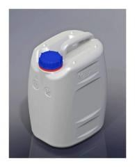 The eurocanister of plastic 10 l, for water,