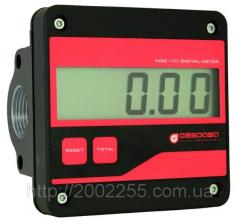 The electronic MGE 110 counter for diesel fuel,