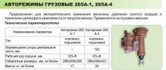 Automodes cargo 265A-1/265A-4