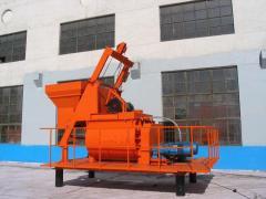 Concrete mixer two-shaft rotor TITAN 1000 M